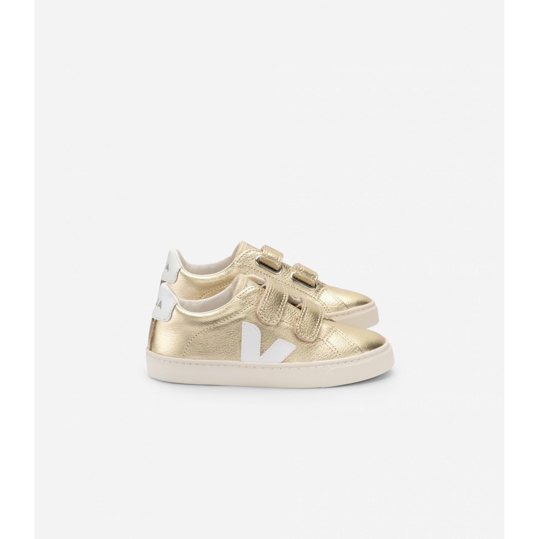 Children's shoes Veja Esplar Leather Gold