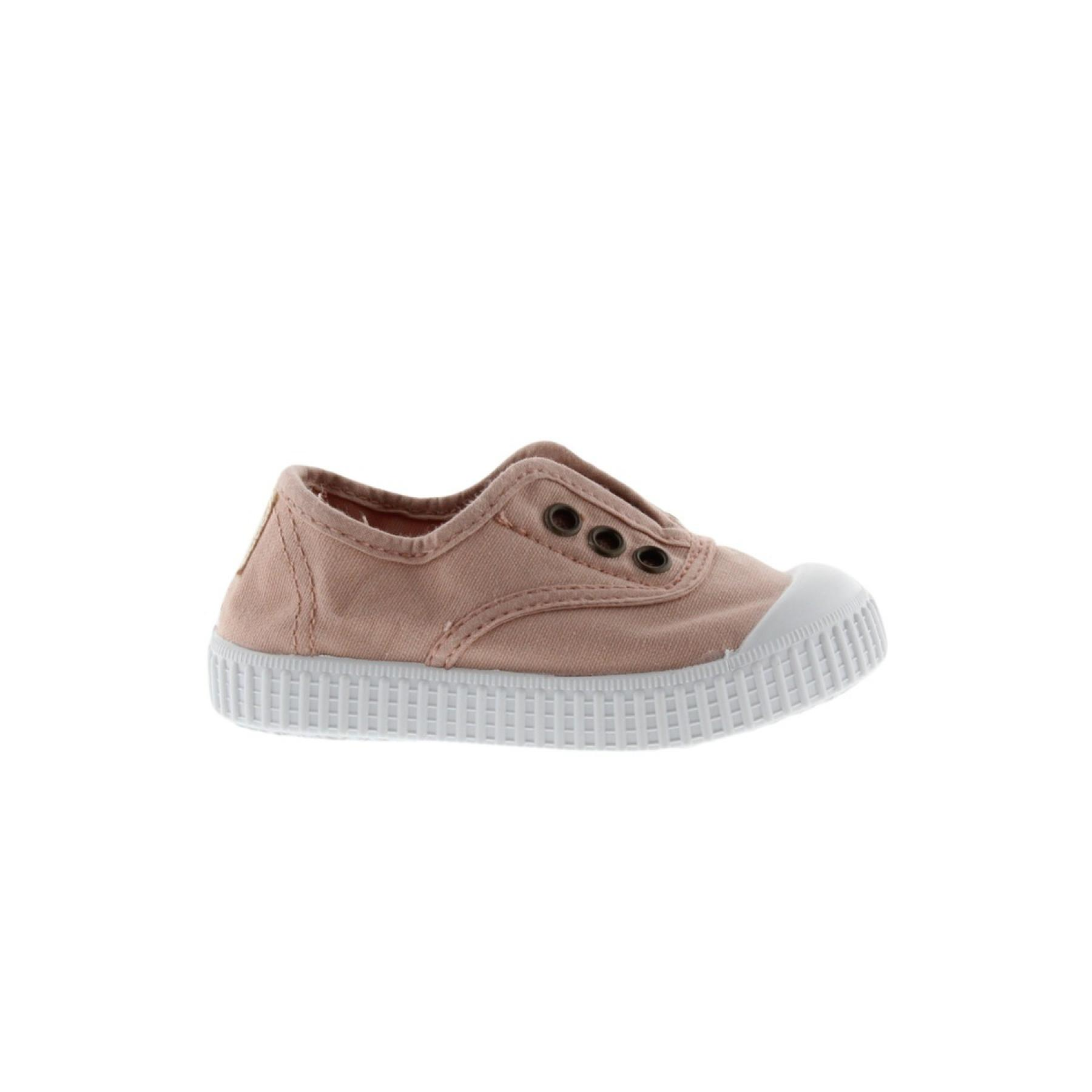 Victoria 1915 English girl shoes washed canvas
