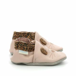 Baby slippers Robeez Leo Mouse