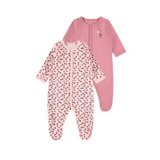 Set of 2 baby pyjamas Name it