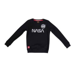 Sweatshirt child Alpha Industries NASA Reflective