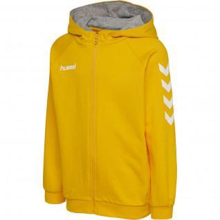 Children's zip-up hooded jacket Hummel hmlGO cotton