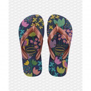 Children's flip-flops Havaianas Flores