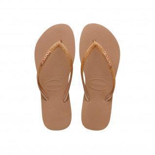 Havaianas Slim Shiny flip-flops