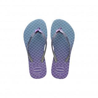 Havaianas Slim Glitter II children's flip-flops