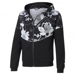 Girl's Sweatshirt Puma Alpha Full-Zip TR G