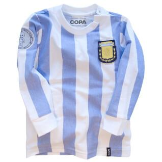 Home Jersey long sleeve baby Argentina