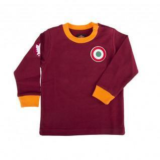 Home Jersey long sleeve baby AS Roma