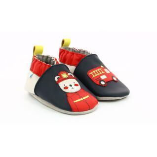 Baby slippers Robeez fireman