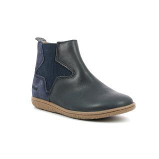 Children's shoes Kickers Vermillon