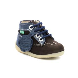 Baby shoes Kickers Bonzip