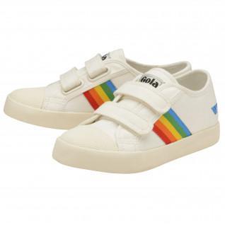 Children's sneakers Gola Coaster Rainbow Velcro