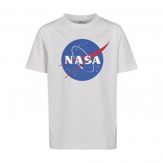 Child's T-shirt Mister Tee nasa insigne