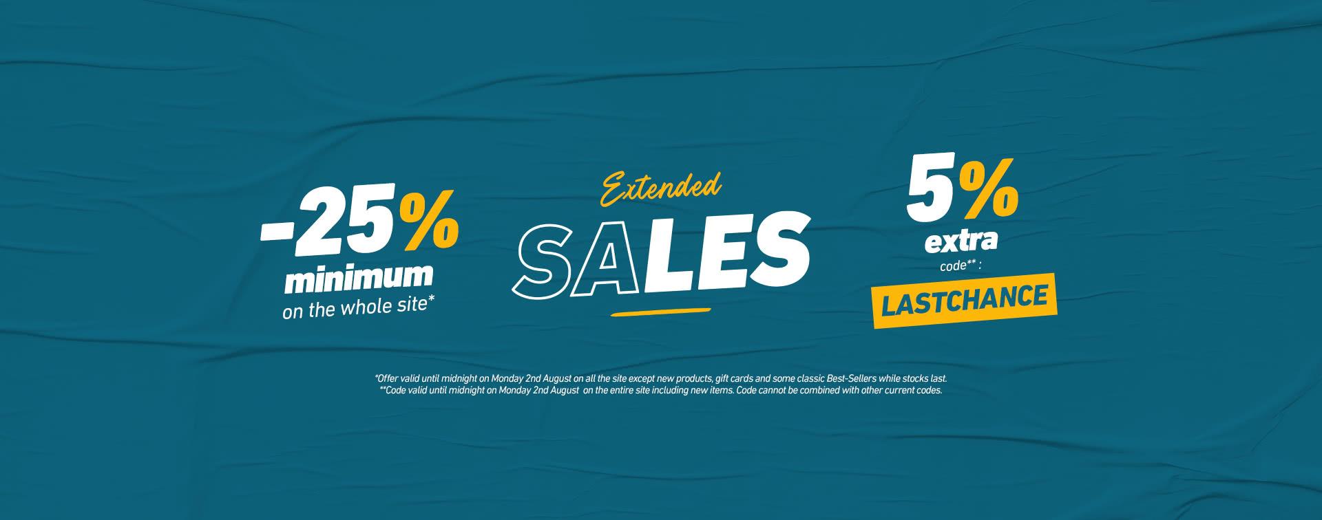 Sale prolongation